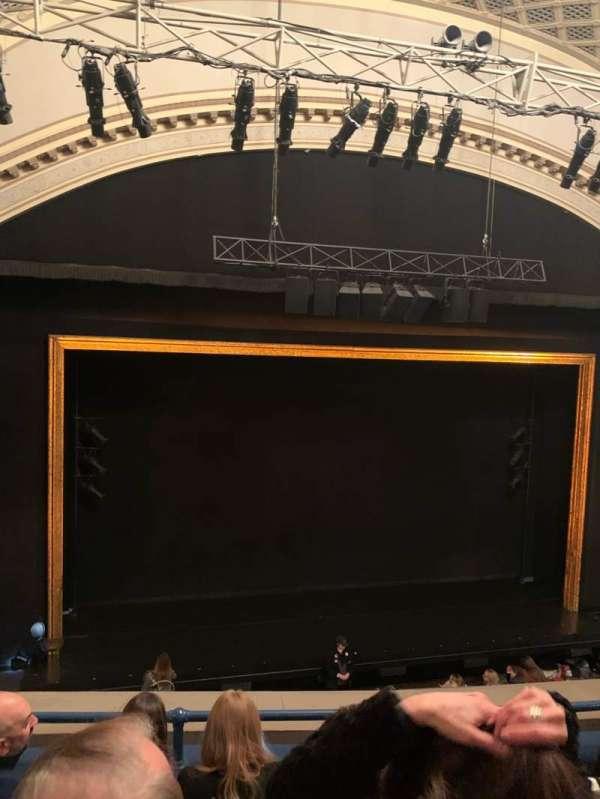 Ambassador Theatre, sección: Front Mezzanine LC, fila: D, asiento: 117