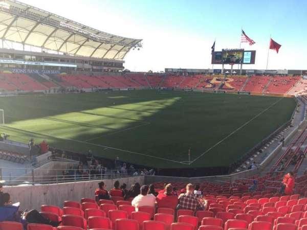 Rio Tinto Stadium, sección: 7, fila: X, asiento: 18