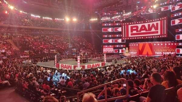 Madison Square Garden, sección: 105, fila: 6, asiento: 13