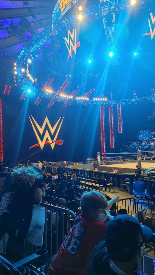 Madison Square Garden, sección: 119, fila: 3, asiento: 4