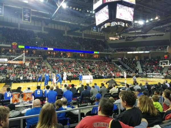 BB&T Arena, sección: 103, fila: D, asiento: 15