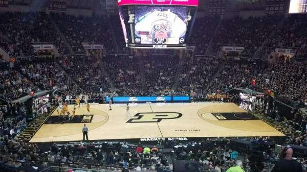 Mackey Arena, sección: 110, fila: 12, asiento: 26