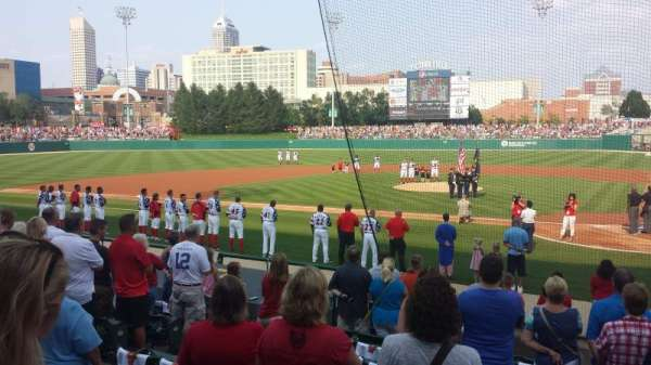 Victory Field, asiento: 1