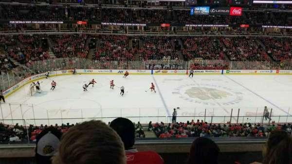 United Center, sección: 219, fila: 3, asiento: 3