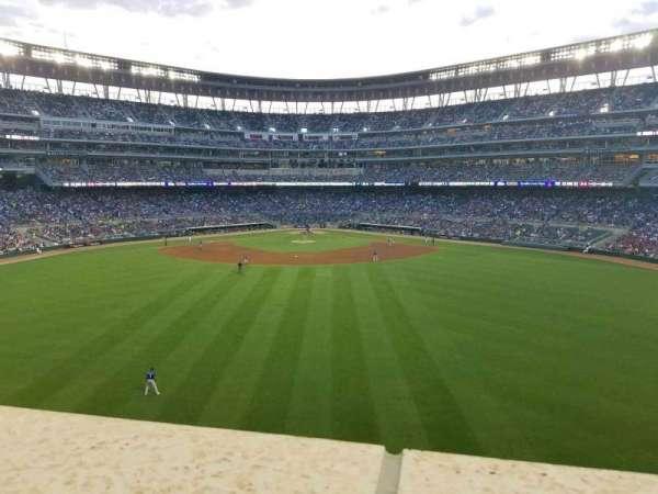 Target Field, sección: Catch, fila: 1, asiento: 13