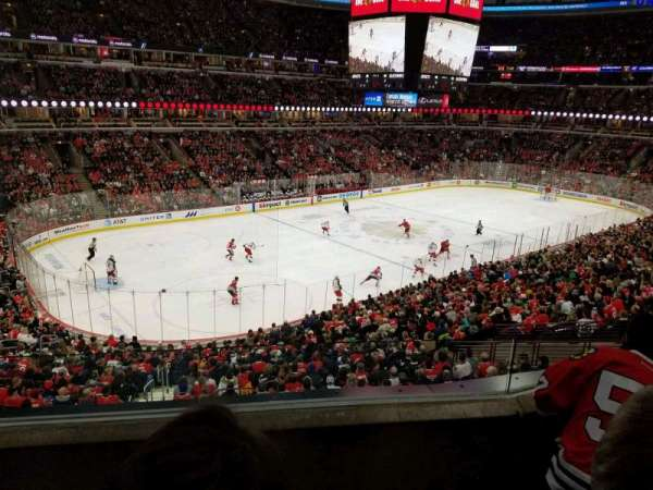 United Center, sección: 221, fila: 3, asiento: 10