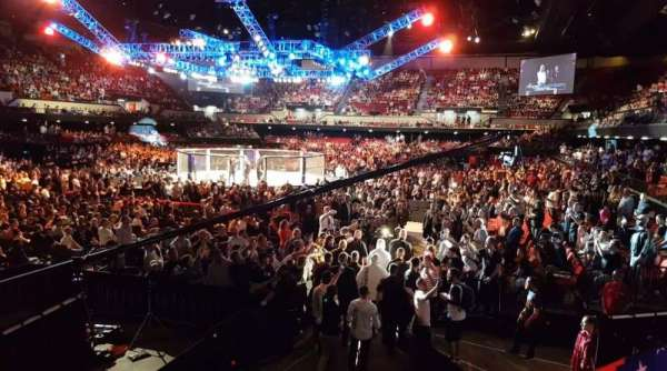Adelaide Entertainment Centre, sección: 3, fila: BB, asiento: 15