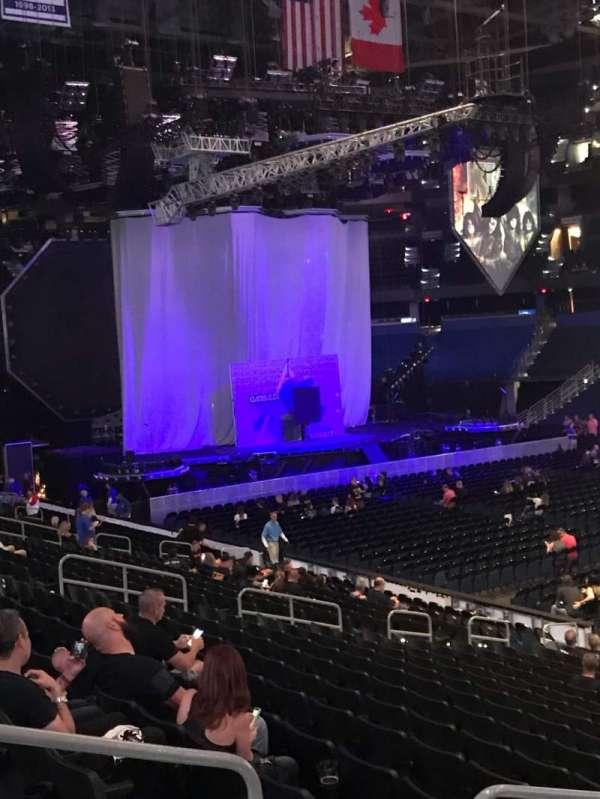 Amalie Arena, sección: 114, fila: U, asiento: 12
