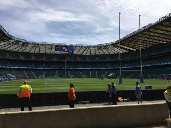 Twickenham Stadium, sección: L16, fila: 5, asiento: 175