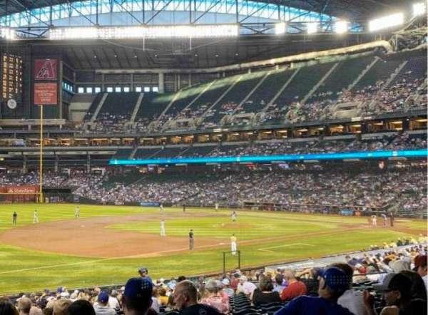 Chase Field, sección: 131, fila: 34, asiento: 19