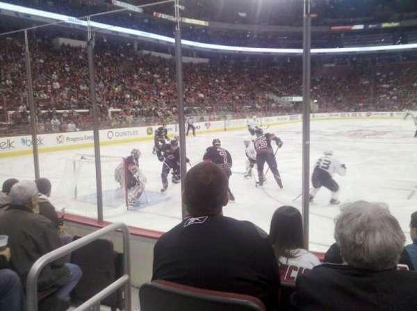 PNC Arena, sección: 110, fila: E, asiento: 3