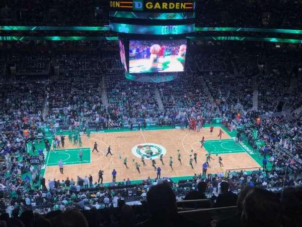 TD Garden, sección: Bal 317, fila: 11, asiento: 6