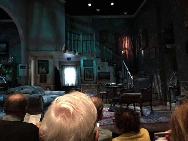 The Irish Repertory Theater, sección: Orchestra, fila: C, asiento: 4