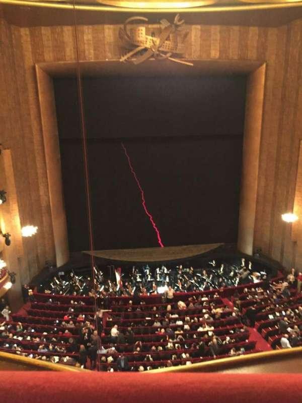 Metropolitan Opera House - Lincoln Center, sección: Balcony, fila: A, asiento: 111