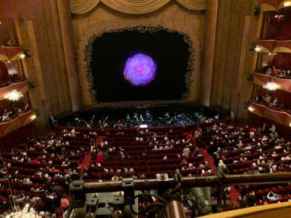 Metropolitan Opera House - Lincoln Center, sección: Dress Circle, fila: A, asiento: 101