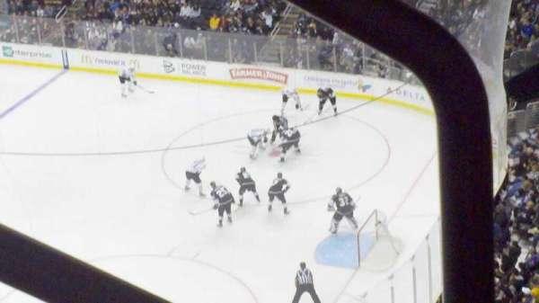Staples Center, sección: 316, fila: 3, asiento: 1