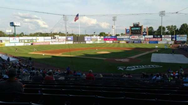 TD Bank Ballpark, sección: 204, fila: U, asiento: 8