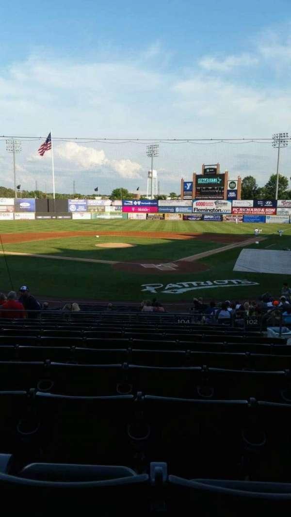TD Bank Ballpark, sección: 204, fila: U, asiento: 5