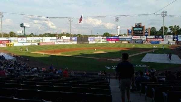TD Bank Ballpark, sección: 204, fila: U, asiento: 1