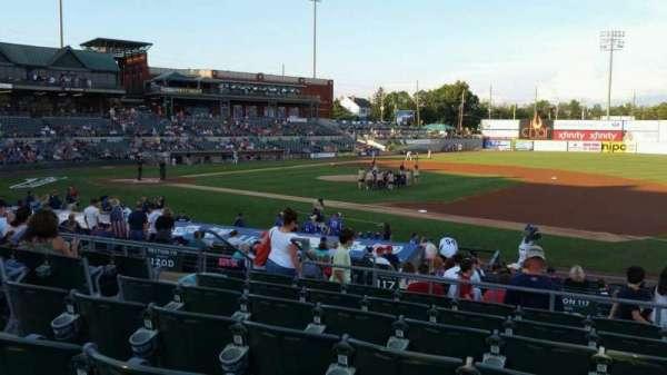 TD Bank Ballpark, sección: 215, fila: Q, asiento: 13