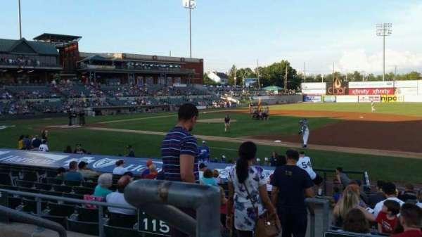 TD Bank Ballpark, sección: 215, fila: K, asiento: 18