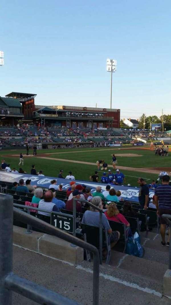 TD Bank Ballpark, sección: 215, fila: K, asiento: 17
