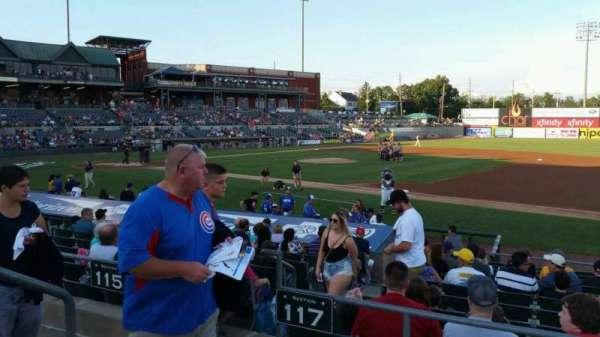 TD Bank Ballpark, sección: 215, fila: K, asiento: 15
