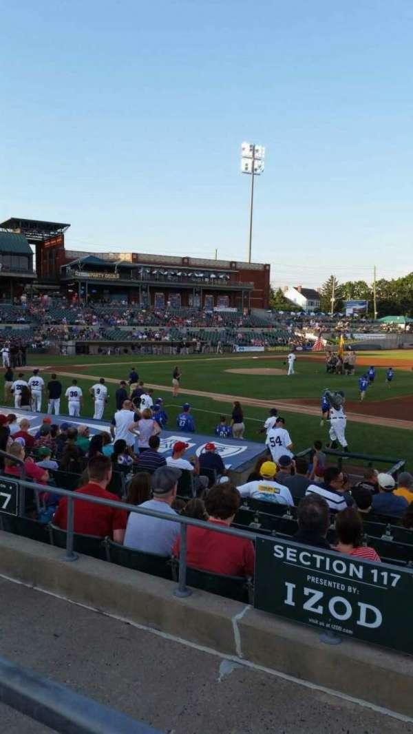 TD Bank Ballpark, sección: 215, fila: K, asiento: 11