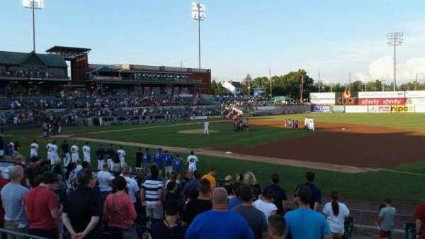TD Bank Ballpark, sección: 215, fila: K, asiento: 6
