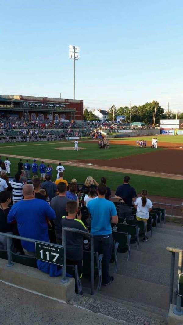 TD Bank Ballpark, sección: 215, fila: K, asiento: 4