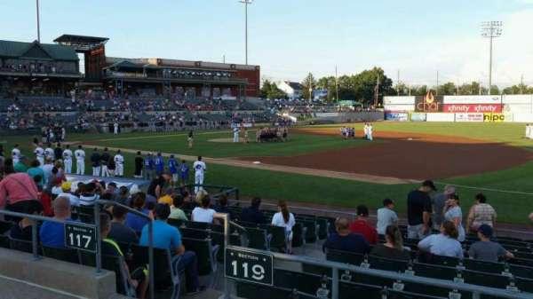 TD Bank Ballpark, sección: 215, fila: K, asiento: 1