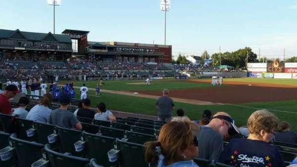 TD Bank Ballpark, sección: 119, fila: I, asiento: 1