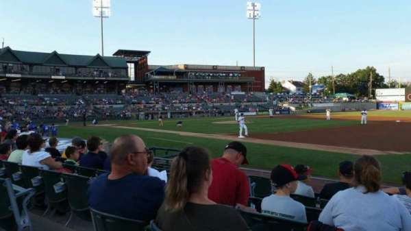 TD Bank Ballpark, sección: 119, fila: I, asiento: 7