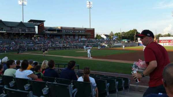 TD Bank Ballpark, sección: 119, fila: I, asiento: 10