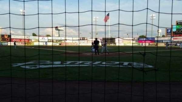 TD Bank Ballpark, sección: 101, fila: A, asiento: 6