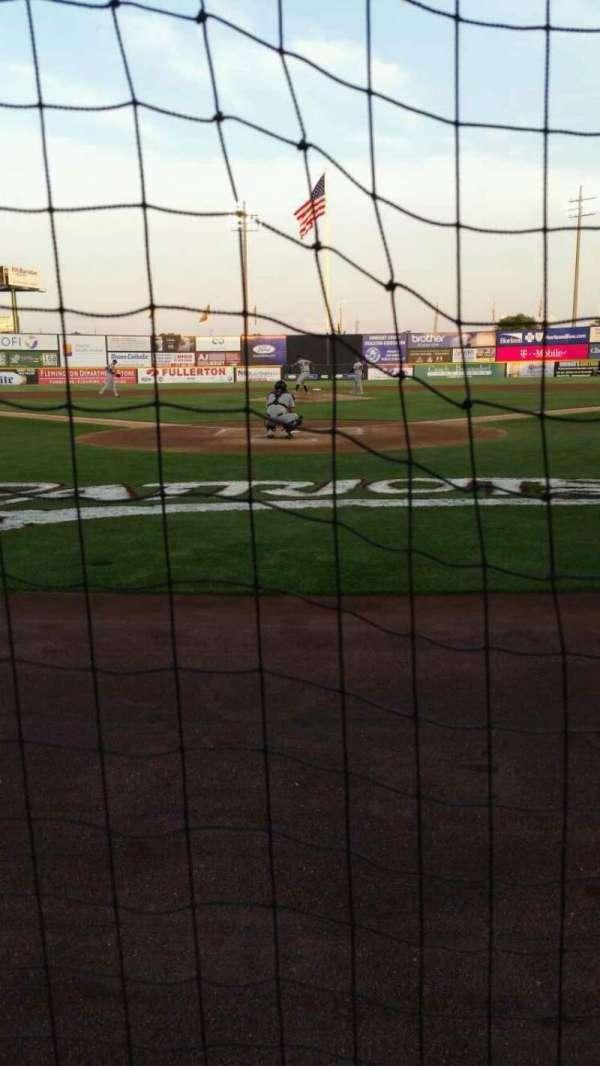 TD Bank Ballpark, sección: 101, fila: A, asiento: 8
