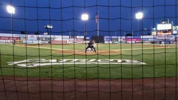 TD Bank Ballpark, sección: 101, fila: A, asiento: 7