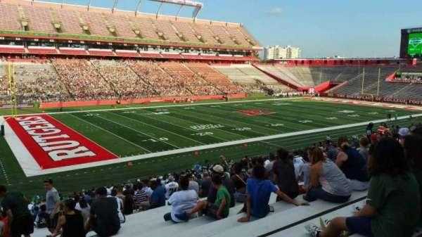 High Point Solutions Stadium, sección: 109, fila: 34, asiento: 25