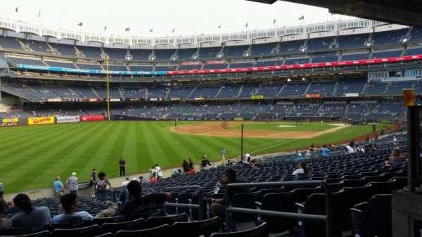 Yankee Stadium, sección: 131, fila: 23, asiento: 4
