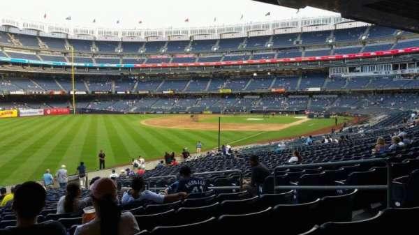 Yankee Stadium, sección: 131, fila: 23, asiento: 7