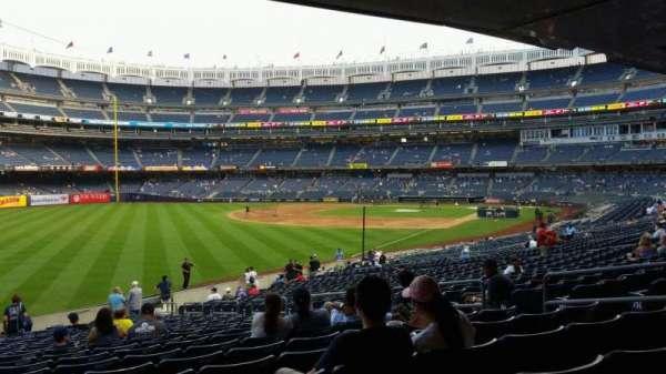 Yankee Stadium, sección: 131, fila: 23, asiento: 10