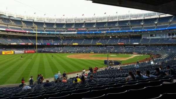 Yankee Stadium, sección: 131, fila: 23, asiento: 16