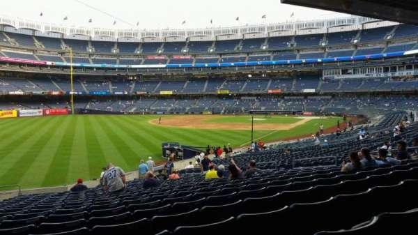 Yankee Stadium, sección: 131, fila: 23, asiento: 19
