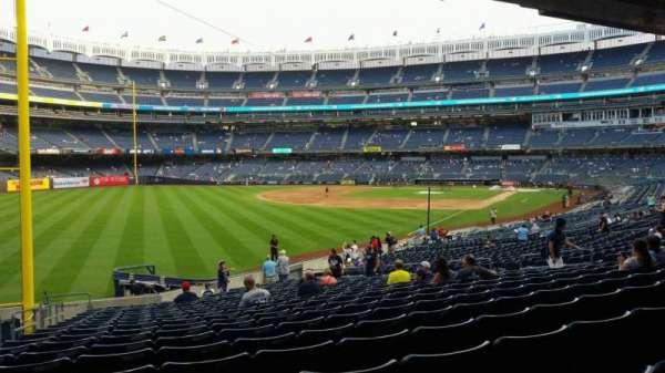 Yankee Stadium, sección: 131, fila: 23, asiento: 21