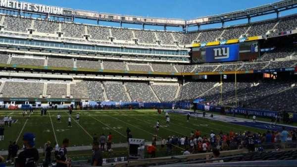 MetLife Stadium, sección: 139, fila: 18, asiento: 1