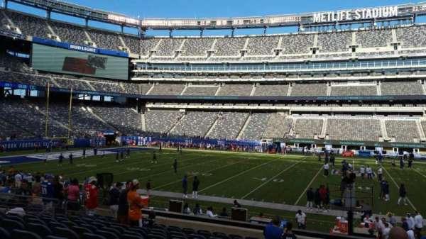 MetLife Stadium, sección: 139, fila: 18, asiento: 16