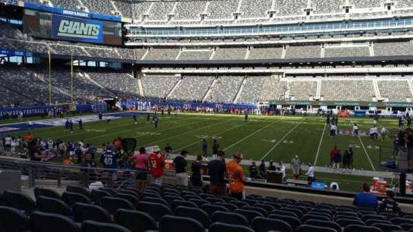 MetLife Stadium, sección: 139, fila: 18, asiento: 22