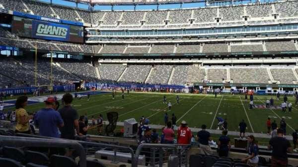 MetLife Stadium, sección: 139, fila: 27, asiento: 30