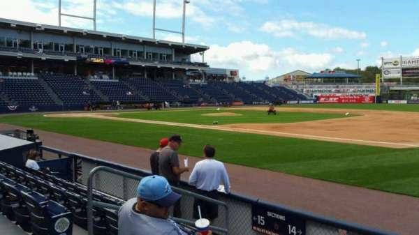 PNC Field, sección: 14, fila: 5, asiento: 12