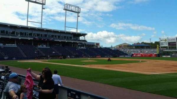 PNC Field, sección: 14, fila: 5, asiento: 7